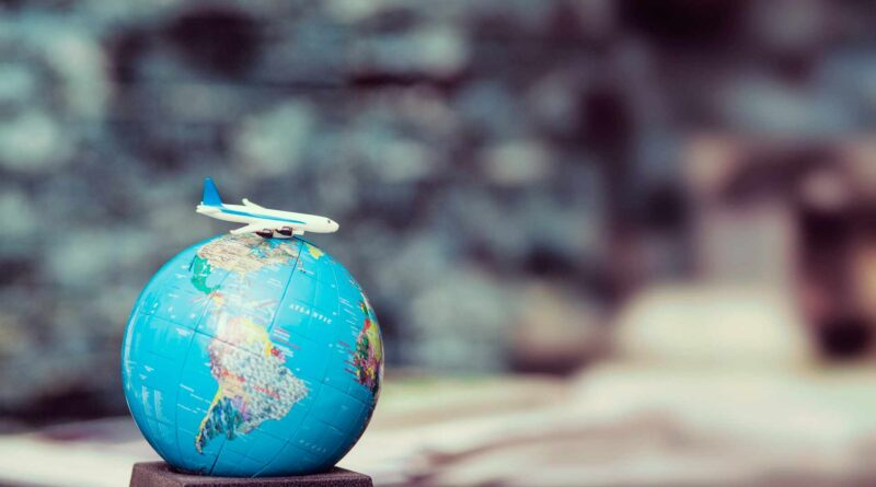 globus i samolot