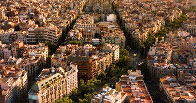 panorama Barcelony