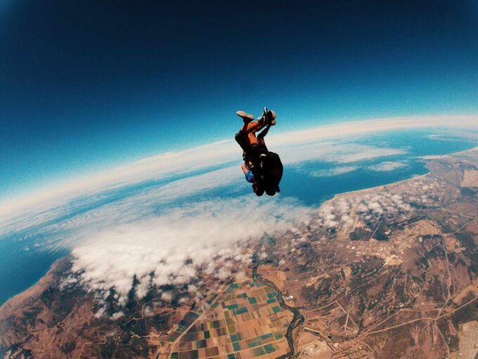 skok spadochron