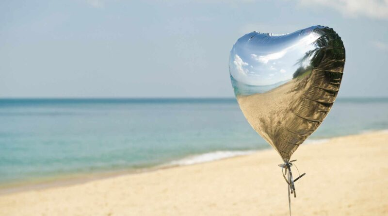 plaża i balon